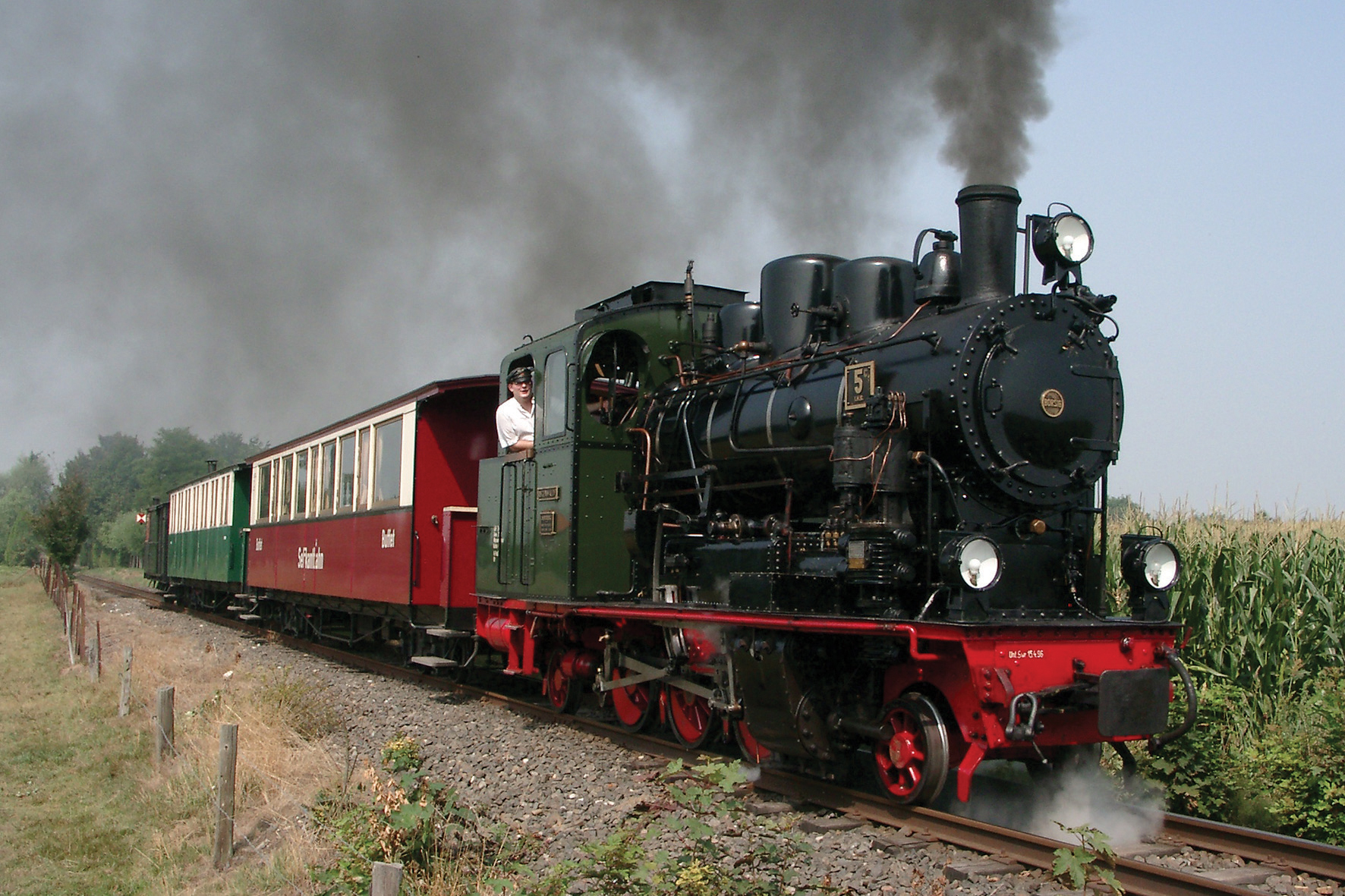 Selfkantbahn am Niederrhein © Markus Kaiser